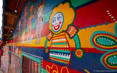 How to visit Rainbow Village in Taichung, Taiwan