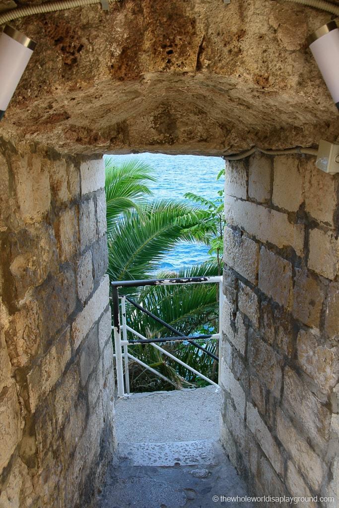 Buza Dubrovnik entrance