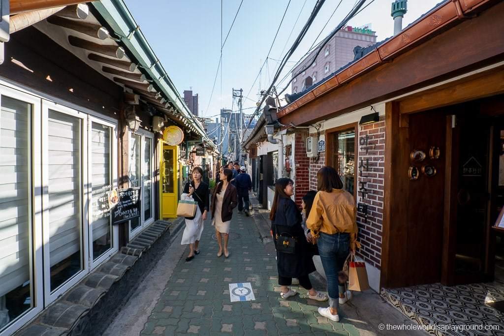 Seoul itinerary