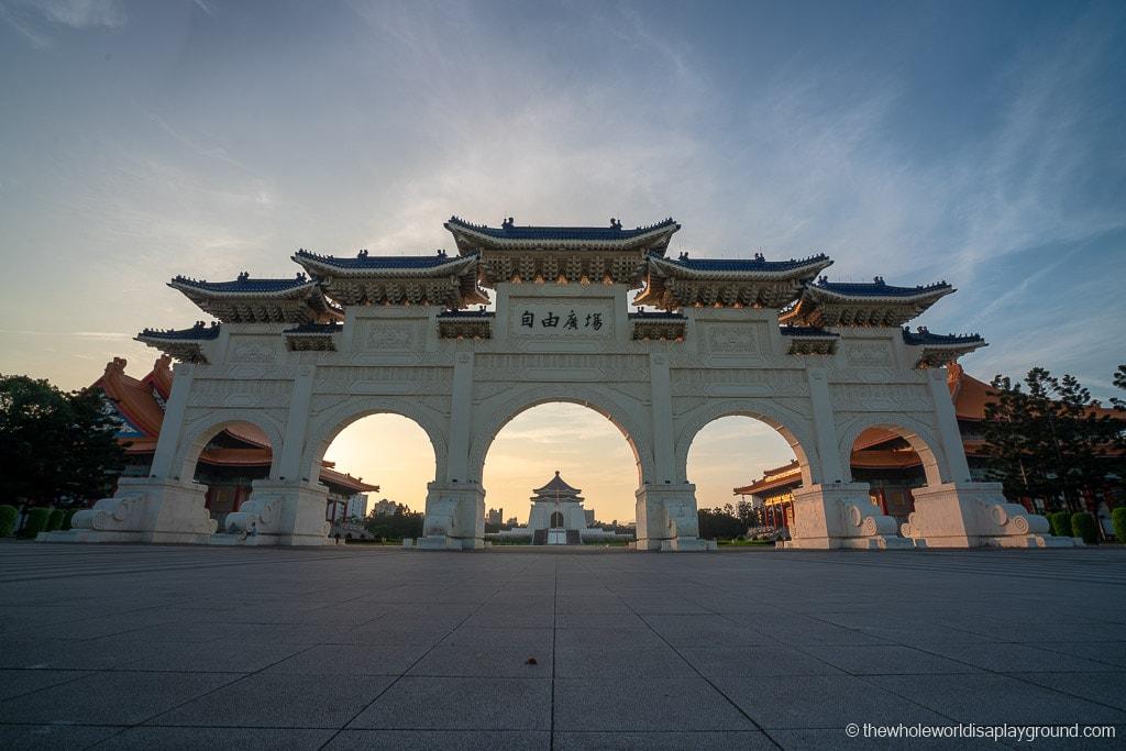 Taipei Itinerary Liberty Square