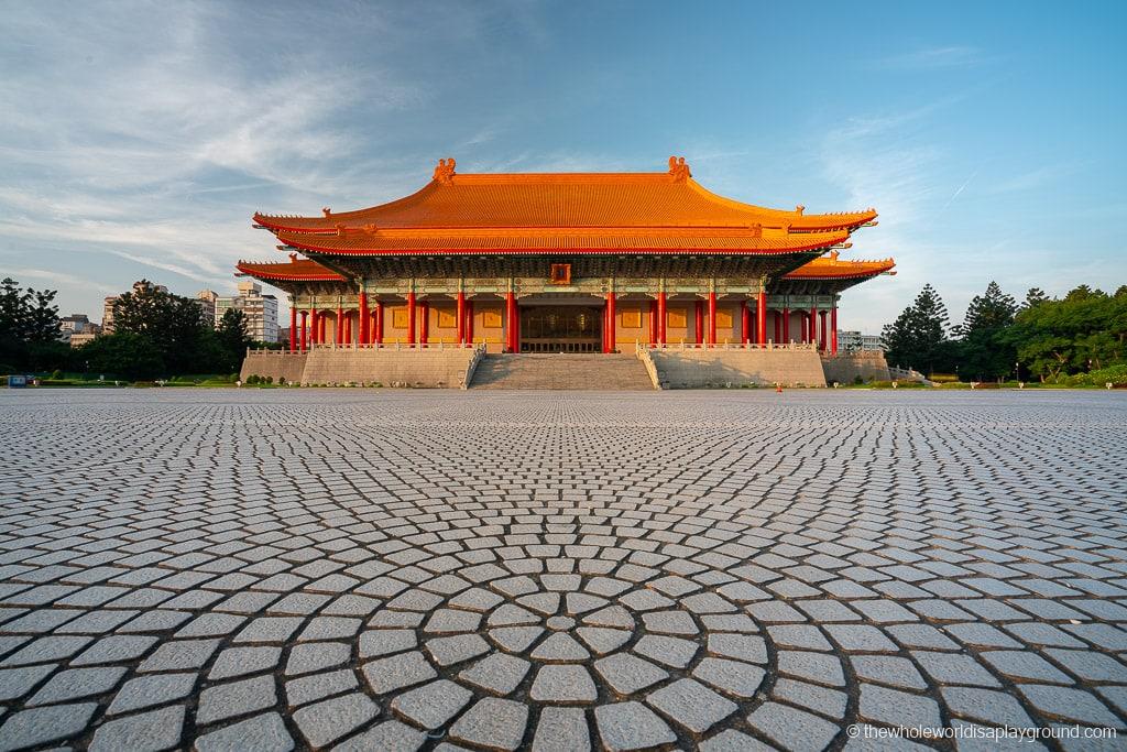 Taipei Itinerary National Theater