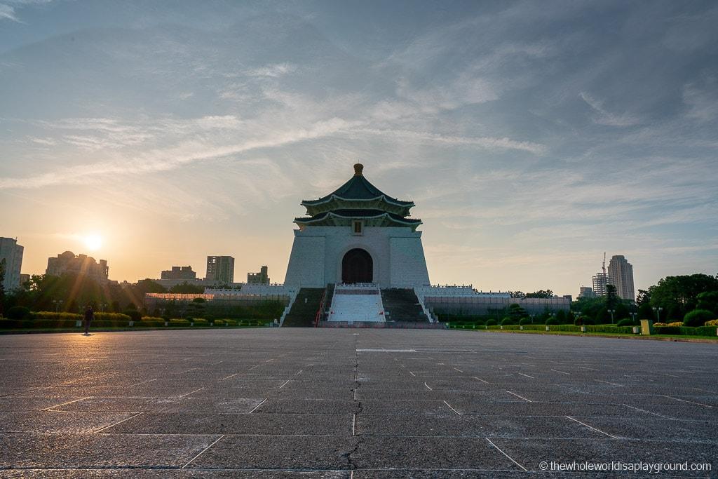 Taipei itinerary CKS Memorial hall