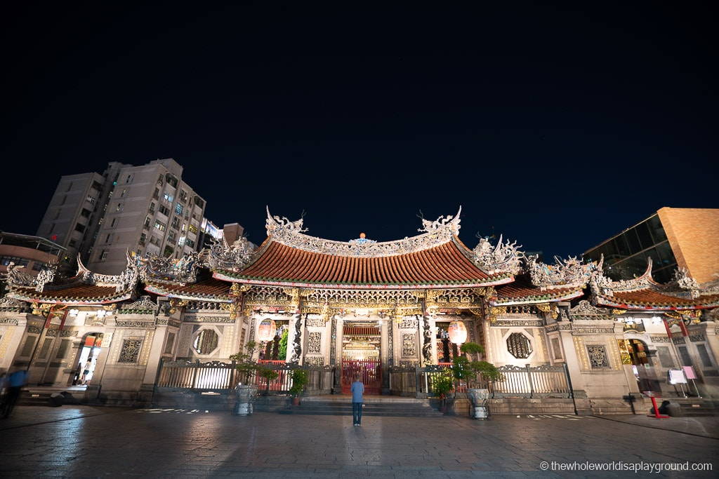 Taipei Itinerary Longshan Temple