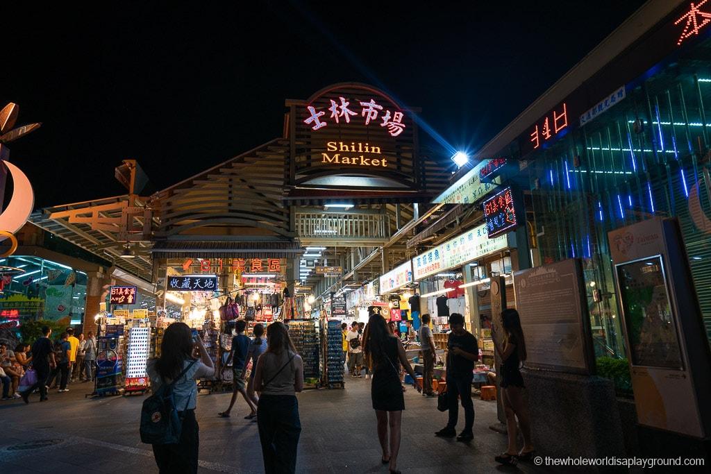 Taipei Itinerary Shilin Night Market