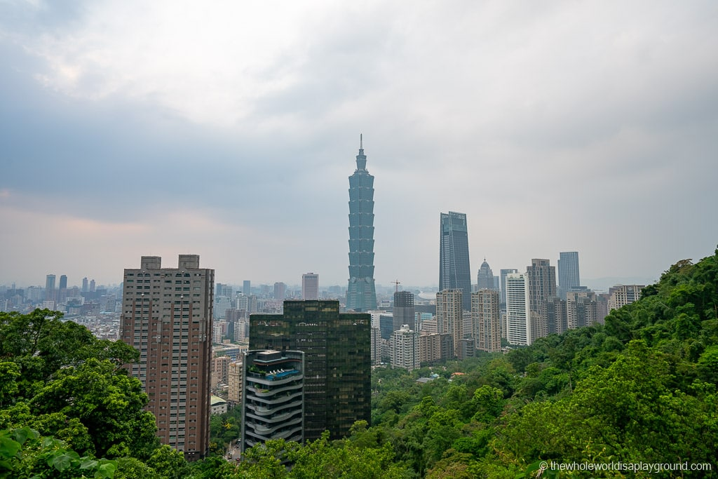 Taipei Itinerary Elephant Mountain