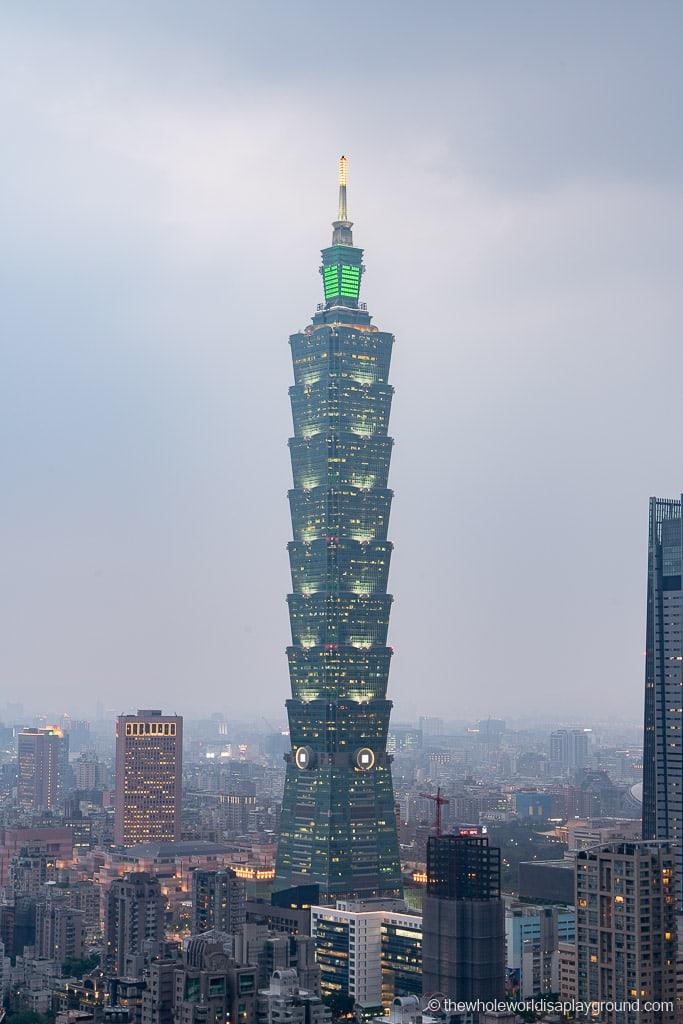 Taipei Itinerary Taipei 101