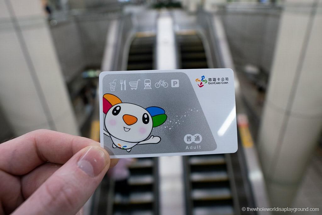 Taipei Itinerary: Taipei Easy Card