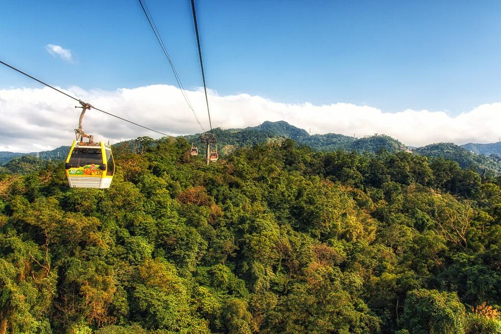 Taipei itinerary Maokong Gondola