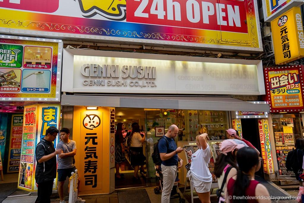 Genki Sushi things to do in Shibuya