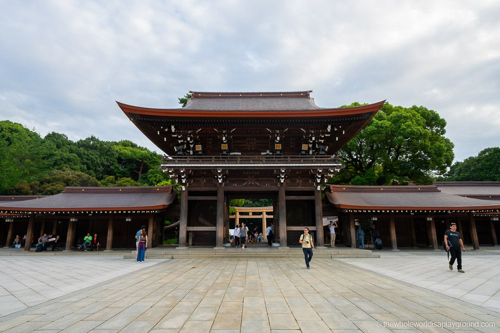 Meiji Shrine things to do in Shinjuku