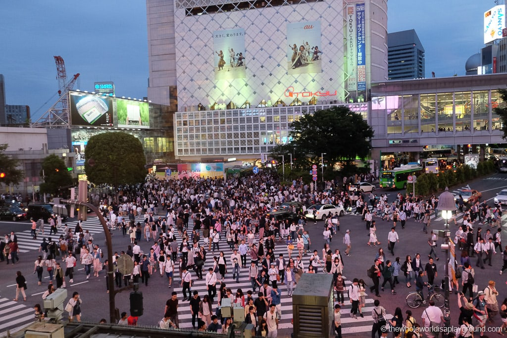 Shibuya Crossing things to do in Tokyo
