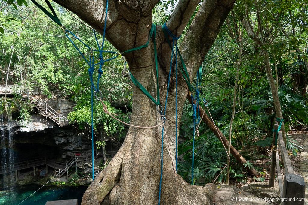 Ek Balam Cenote Xcanche
