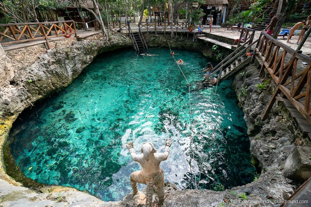 Playa del Carmen cenotes