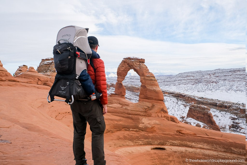 Arches National Park in Winter
