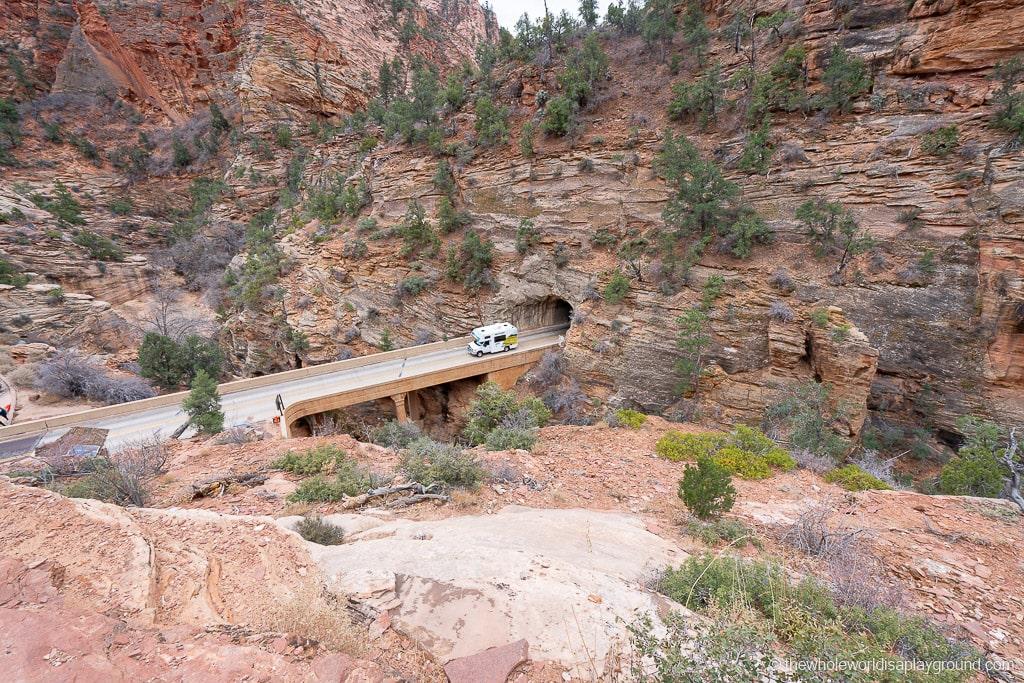 Zion Mount Carmel Highway Scenic Drive