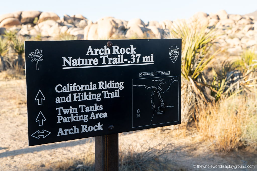 Arch Rock Joshua Tree