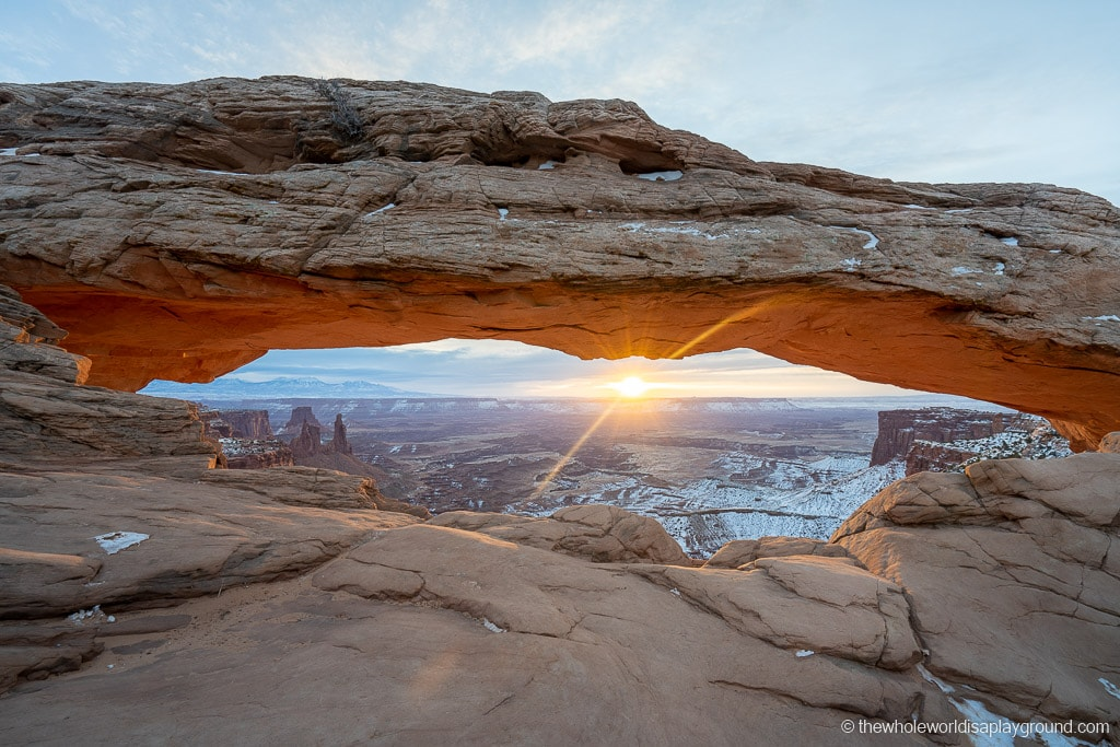Sunrise at Mesa Arch Utah