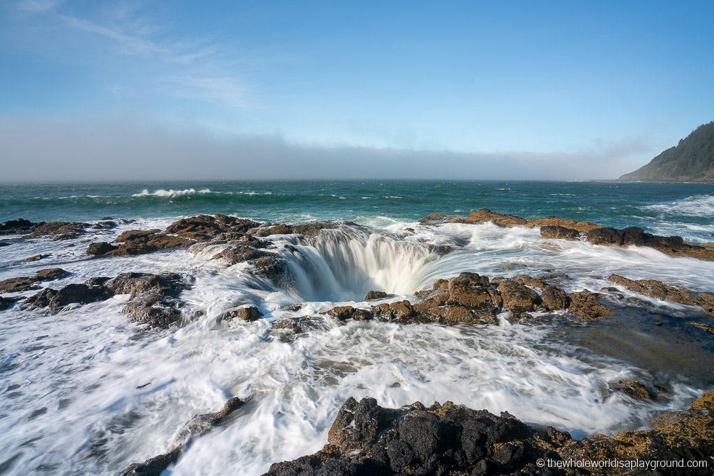 Thors Well Cape Perpetua Oregon