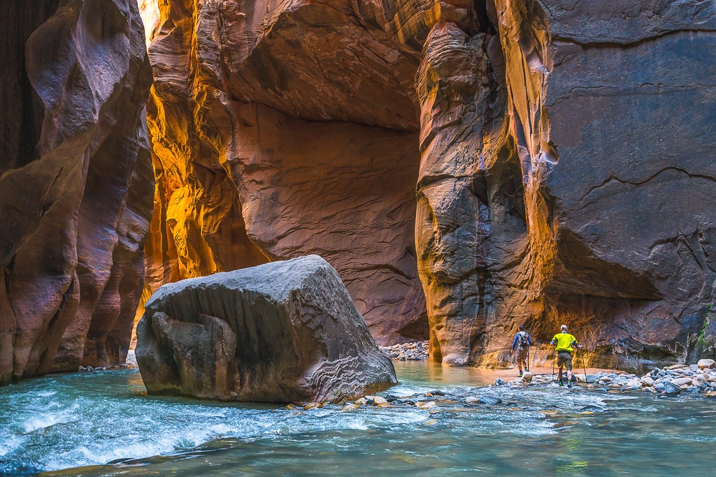 Narrows Hike Zion National Park
