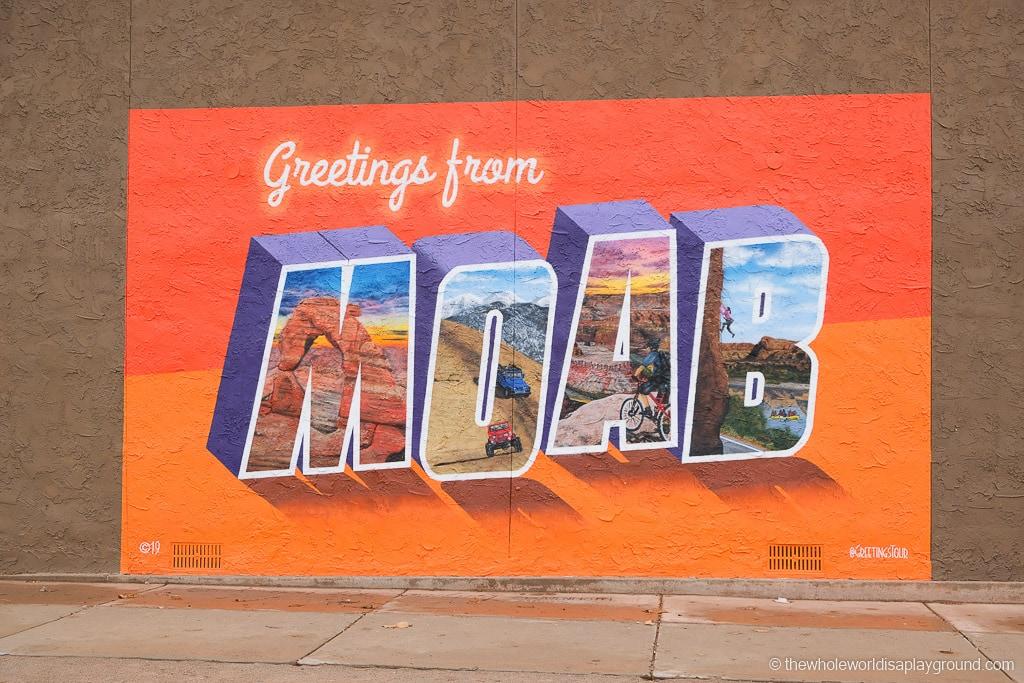 Moab sign