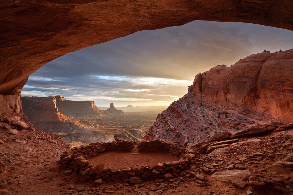 False Kiva Canyonlands National Park