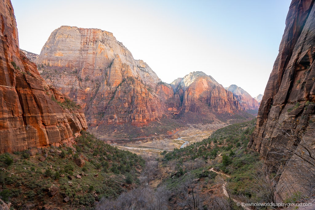Scouts Lookout Hike Zion National Park