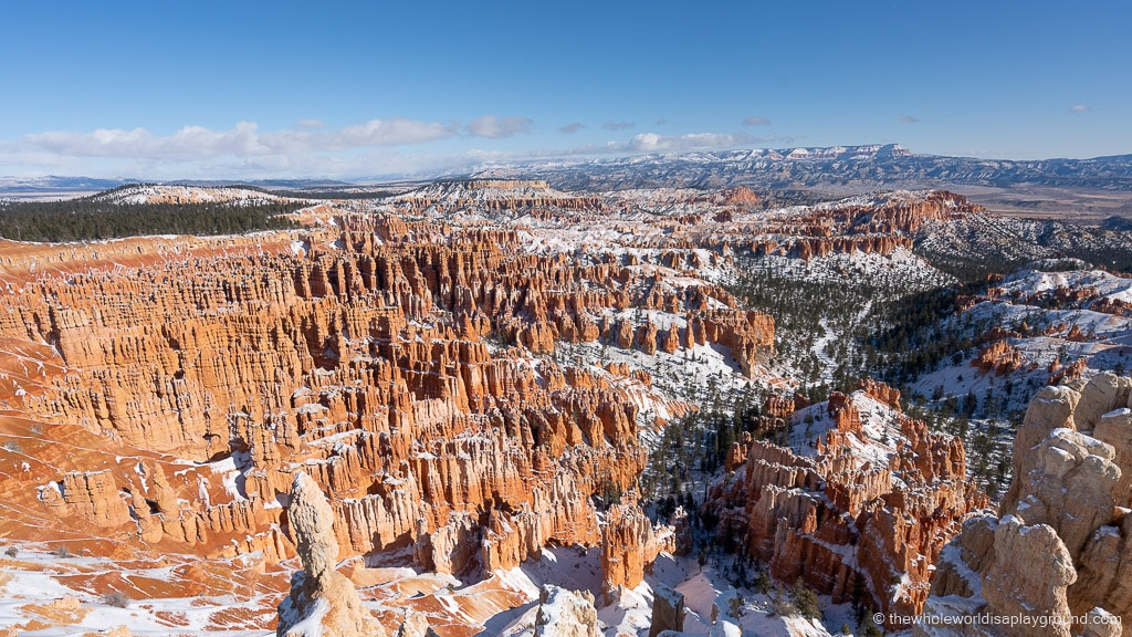 Imagination Point Bryce Canyon in Winter