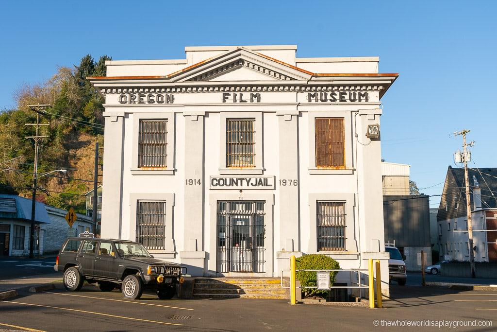 Oregon Film Museum Goonies Jailhouse