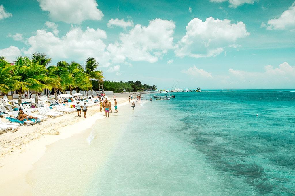Cozumel Beach Riviera Maya Mexico