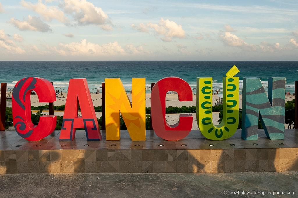 Cancun Sign Playa Defines