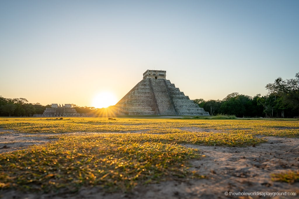 Chichen Itza Sunrise Mexico