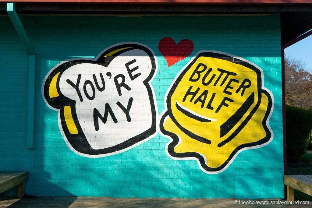 You're My Butter Half Best Murals in Austin