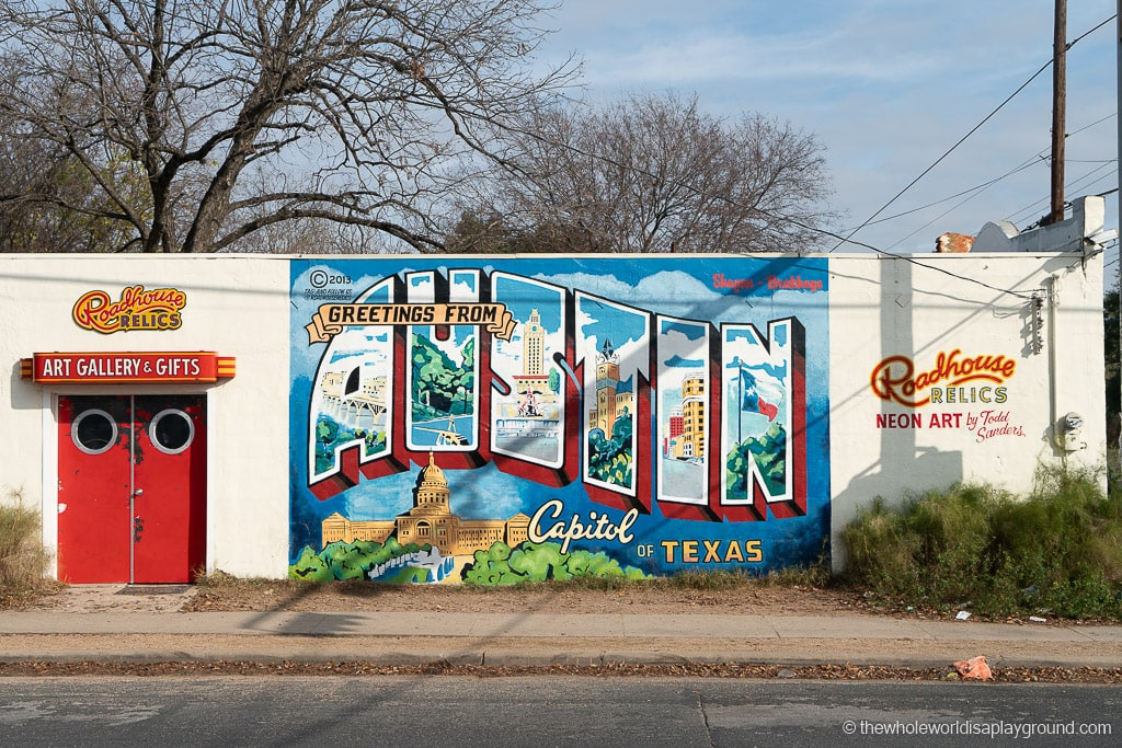 Greetings from Austin Mural Best Murals in Austin