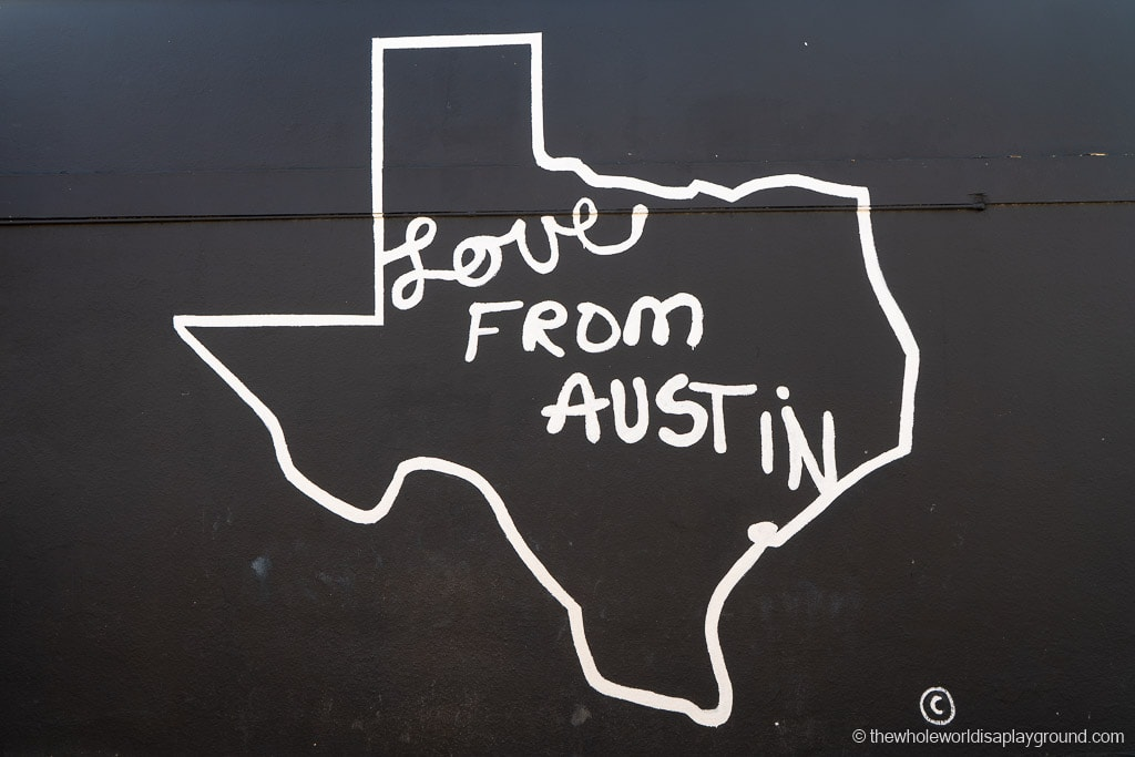 Love from Austin Mural Best Murals in Austin