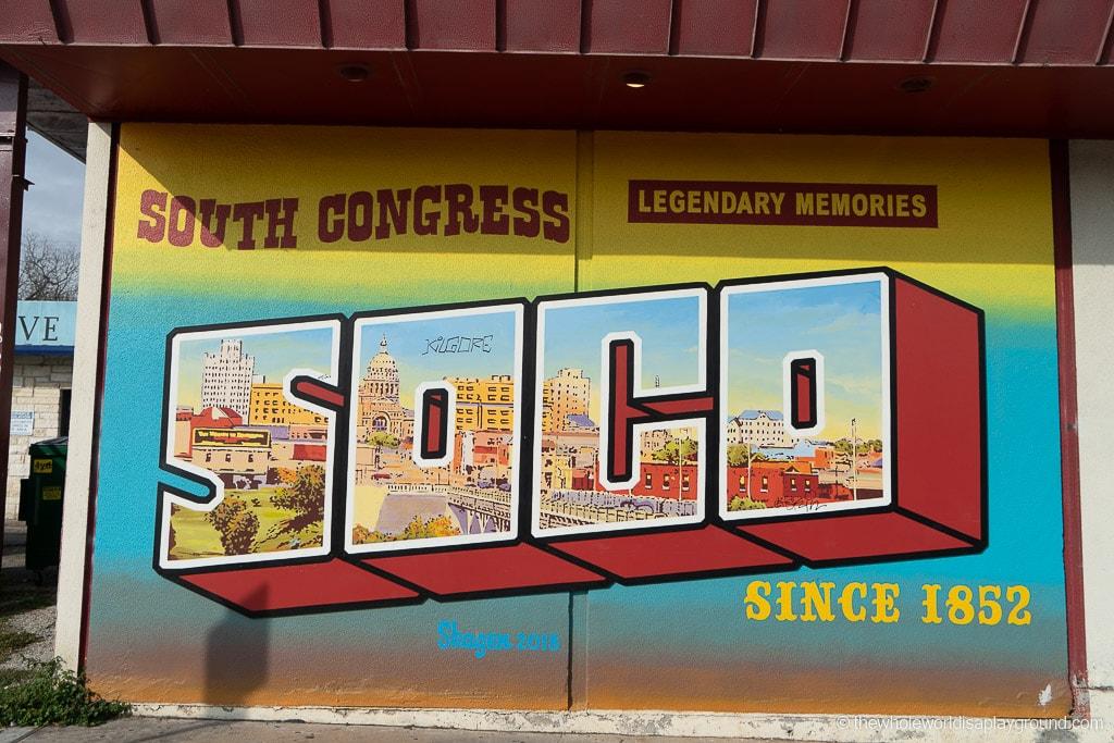 SOCO Mural Best Murals in Austin