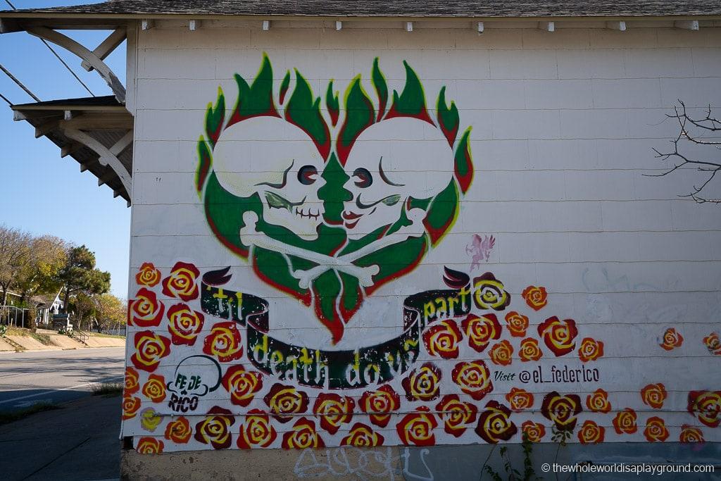 Till Death Do Us Part Mural Best Murals in Austin