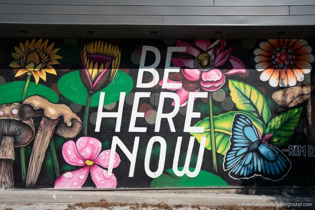 Be Here Now Mural Best Murals in Austin