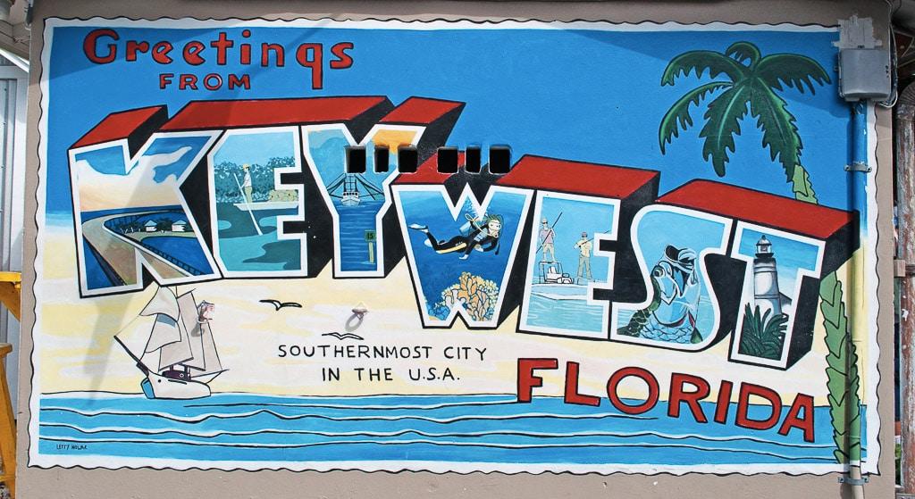 Greetings from Key West Mural